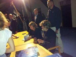 Angela Merkel und Reinhold Messner in Sulden/Südtirol, Juli 2015 (Quelle: Claus Teutenberg)