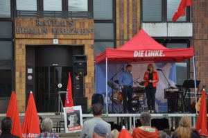 Wahlkampfabschluss in Marzahn-Hellersdorf
